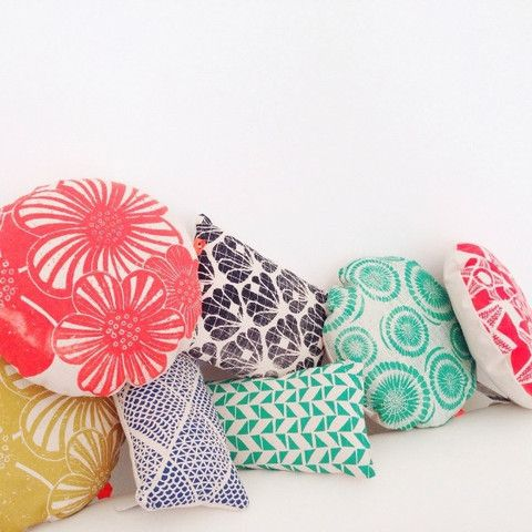 Mini cushions designed in France by Marie Wagner – tea and kate