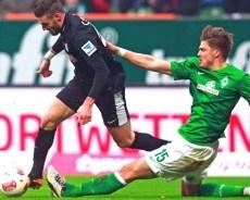 Der SC Freiburg hat in der Fußball- Bundesliga schon wieder gewonnen. Schön! Weiter so!
