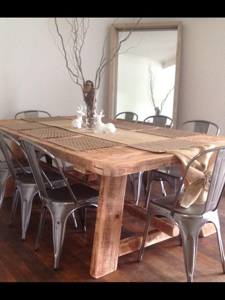 17 Best ideas about Timber Dining Table on Pinterest  : 92833bd5aac6eb1968a16c74ad40bae7 from www.pinterest.com size 736 x 981 jpeg 91kB