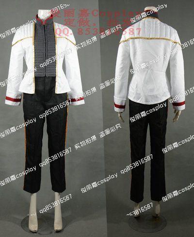 2017 Star Trek: Insurrection Nemesis White Uniform Cosplay Costume Christmas Party Halloween Custom Made #Affiliate
