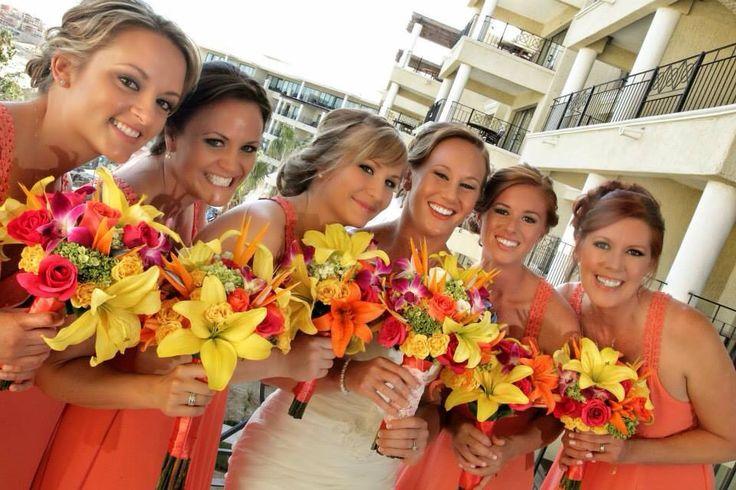 Bridal Party Hair and Makeup at Casa Dorada Resort in Cabo San Lucas, Baja California Sur, Mexico.  Cabo wedding beauty services by Alma Vallejo Cabo Hair & Makeup Professionals. #wedding #makeup #makeupartist #beauty #love #bridetobe #wedspiration #destinationwedding #cabo #cabosanlucas #mexicowedding #loscaboswedding #almavallejo #cabomakeup #weddings #bride #bridal #bridalmakeup #bridalhair #hairstyle #airbrush #bridesmaids #bridalparty #novia #flowers