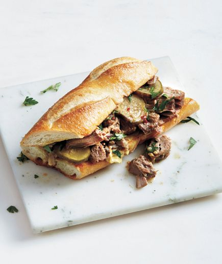 Check out Slow-Cooker Pork Sandwiches With Parsley and ...
