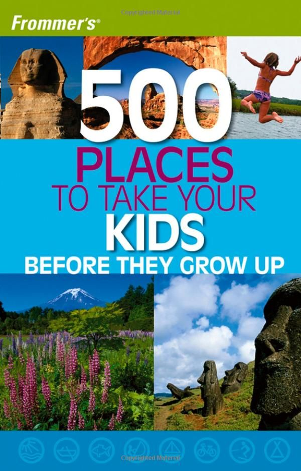 500 places to take your kids before they grow up book