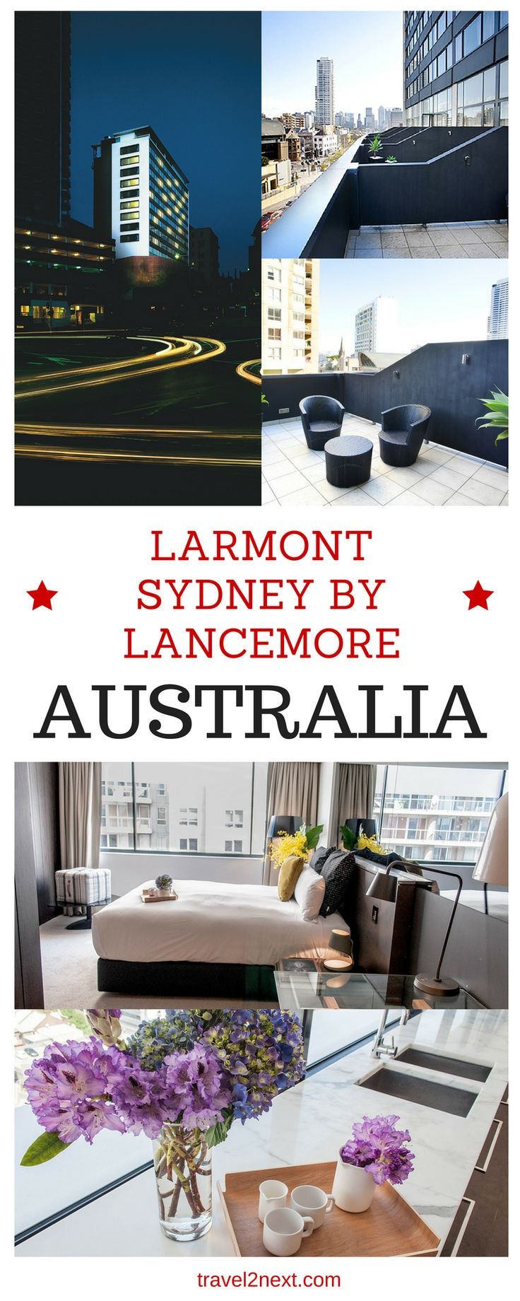 Larmont Sydney by Lancemore. If you're looking for a luxury hotel in Sydney that is close to the city but doesn't have the feel of a large international chain, Larmont Sydney fits the bill.
