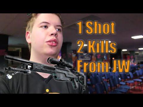 JWonderchild's 1 shot 2 kills with Scope! #CSGO