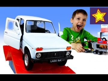 WELLY Машинки 4x4 Нива и Внедорожники проходят испытания Welly car toys http://video-kid.com/21324-welly-mashinki-4x4-niva-i-vnedorozhniki-prohodjat-ispytanija-welly-car-toys.html  Привет, ребята! В этой серии Игорюша открывает велли машинку ниву 4х4. Это белая машинка, у которой открываются двери и есть заводной механизм. Нива с другими внедорожниками проходит испытания на проходимость и мощь. Welly car toys******************************************************Спасибо большое за просмотр…