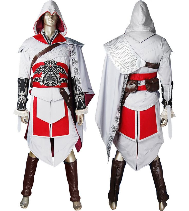 Assassins Creed Brotherhood Ezio cosplay costume halloween costume comic-con anime costumes video game outfit geek costume