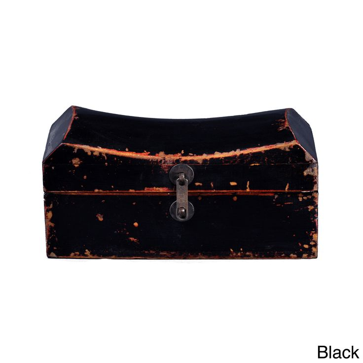 Asian-style Antique Old Pillow Box