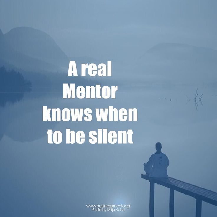 ...silence is a declaration too #businessmentorgr #businessmentor