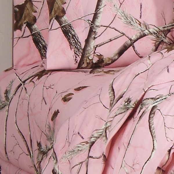 Ap Pink Camo Twin Xl Sheet Set Camouflage Sheets From Kimlor