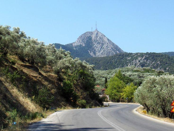Lesbos Olympos Mountain (road to Agiassos) | Greece.com | http://lesbos-eiland.webs.com