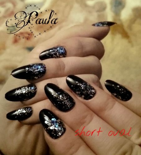 Christmas False Nails Uk: 17 Best Images About Press On Nails Oval Hand Painted On