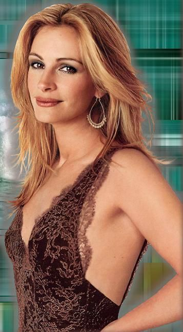 Julia Roberts. I'm not a huge fan, but I do think she looks endearingly lovely here.
