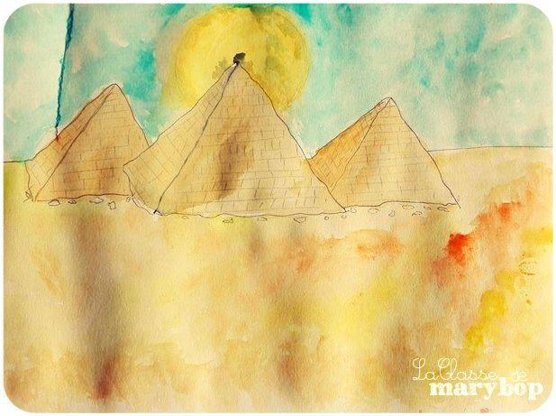 Pyramides - Egypte - Maternelle La Classe de Marybop -