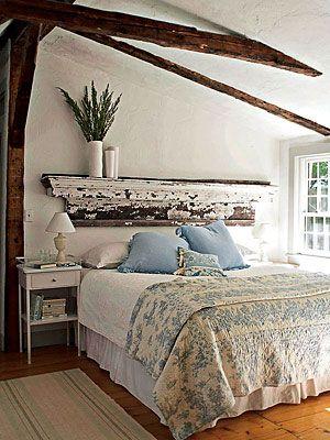 Cabeceiras de cama despojadas, dicas de decoração