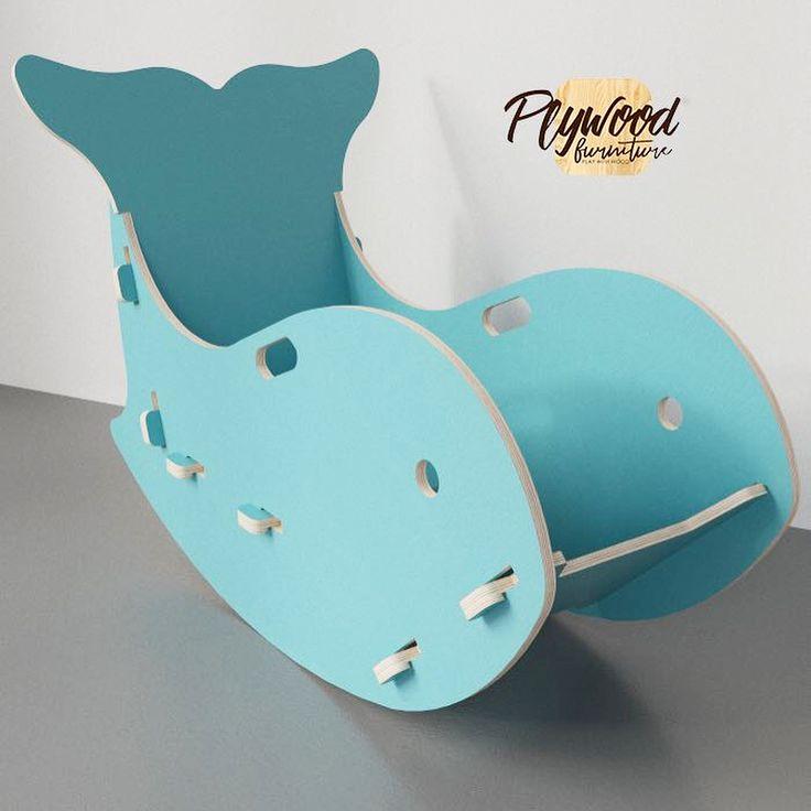 В нашем ряду пополнение💙 Смотрите какой крутой кит🐳😍😍😍 Отличный подарок для ребёнка и развлечение для всех его маленьких гостей!✨😉 А ещё такой кит есть в наличии🎉 Готов покрасится в ваш любимый цвет и отправится жить к вам домой🙌🏻😌 #кит #качалка #качалкакит #фанера #мебельизфанеры #plywood #кемерово #сибирь