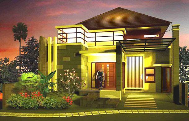 Desain rumah mewah satu lantai | 0817351851 www.kontraktor-bali.com