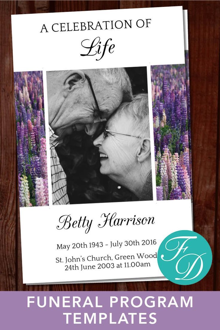 479 best Funeral Programs for Women | Programs & Prayer Cards images ...