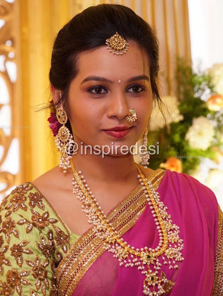 Guttapusalu Necklace Set Indian Jewellery Design