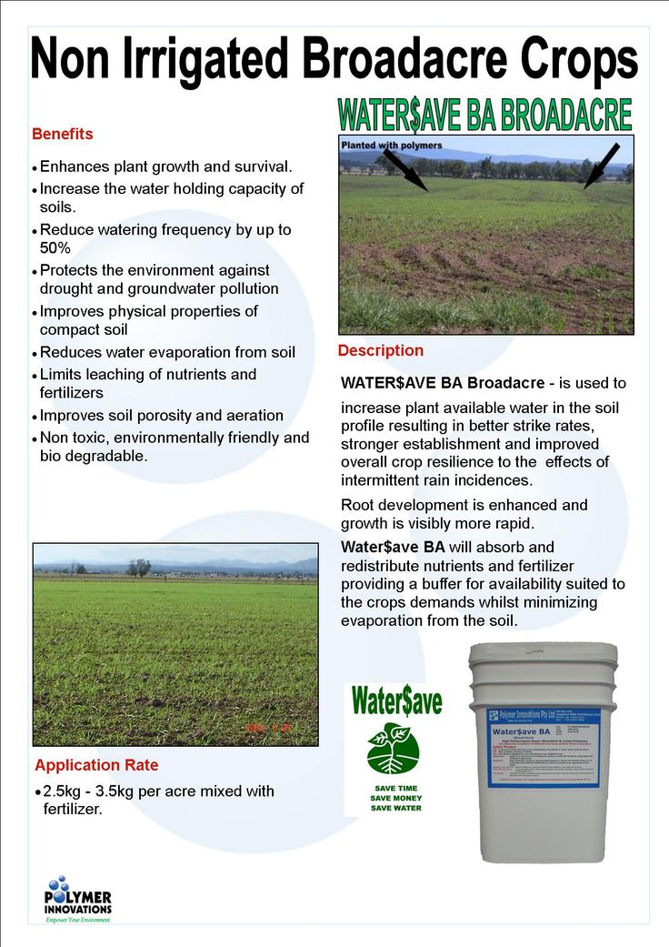 Water$ave Broadacre  Want to enhance #plant #growth & survival while reducing the need to #water? Try Water$ave Broadacre! Limits leaching, protects against #drought & is #environmentally #friendly! Check it out today at: https://www.polymerinnovations.com.au/product/watersave/broadacre/ #Agriculture #Horticulture #Crop #Farming #Eco #Soil
