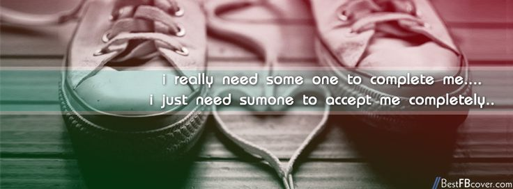 Someone Who Accept Me Facebook Cover