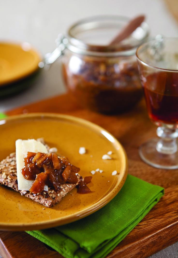 Deze appelchutney smaakt lekker bij onder andere paté, kaas en beenham. Waar doe jij 'm op?
