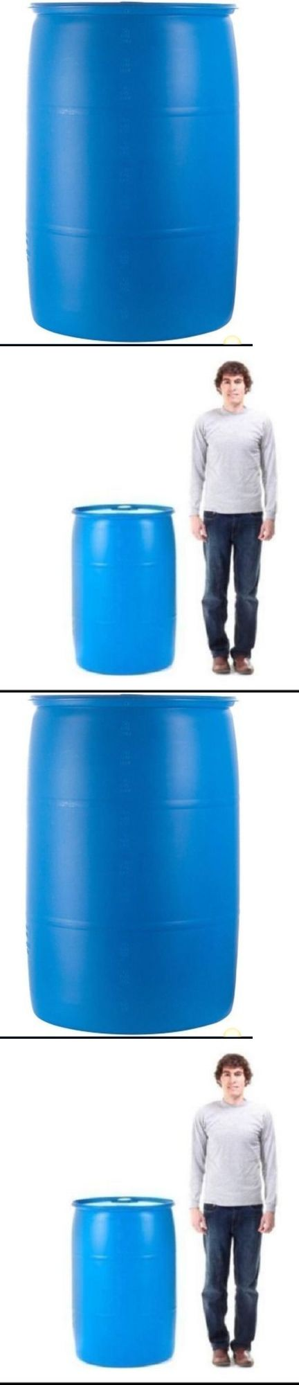 Water Storage and Rain Barrels 139915: Water Storage Barrel 55 Gallon Barrels Rain Water Emergency Storage Containers -> BUY IT NOW ONLY: $73.99 on eBay!