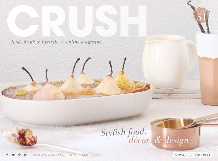 Crush Magazine Cover     Issue 51