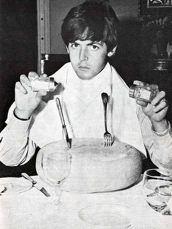 Paul-McCartney-eating-cheese | icons | Pinterest ...