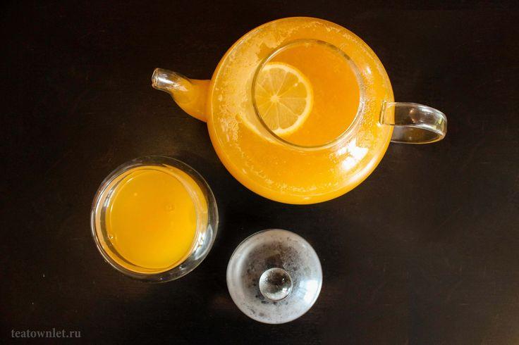 Облепиха обладает массой полезных свойств. #Облепиха #Чай #ЧайныйГородок
