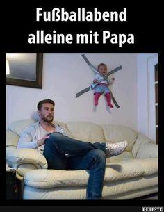 Fußballabend alleine mit Papa..