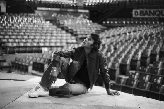 Johnny au Palais des Sports de Paris, 1976 - Benjamin Auger