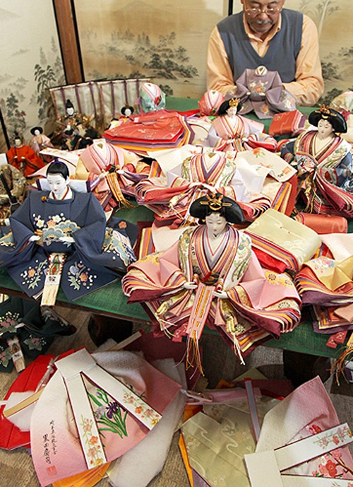 Japanese Hina dolls 雛人形, #Hinamatsuri, #Japon