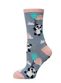 Balloon Panda Socks