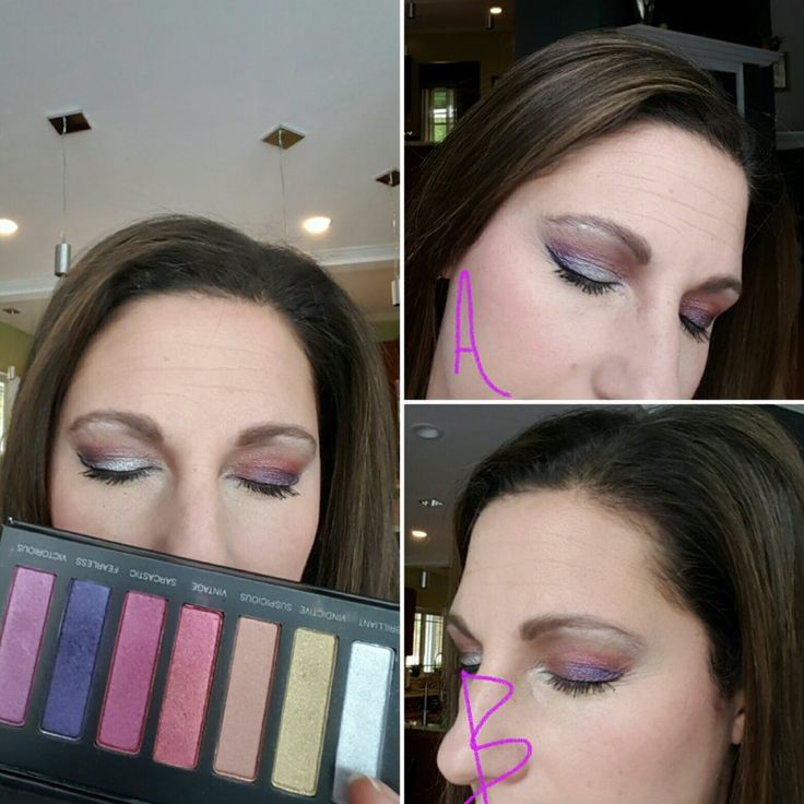 Younique palette 5.  Bright purples, pink and shimmers.  Click on image for products.