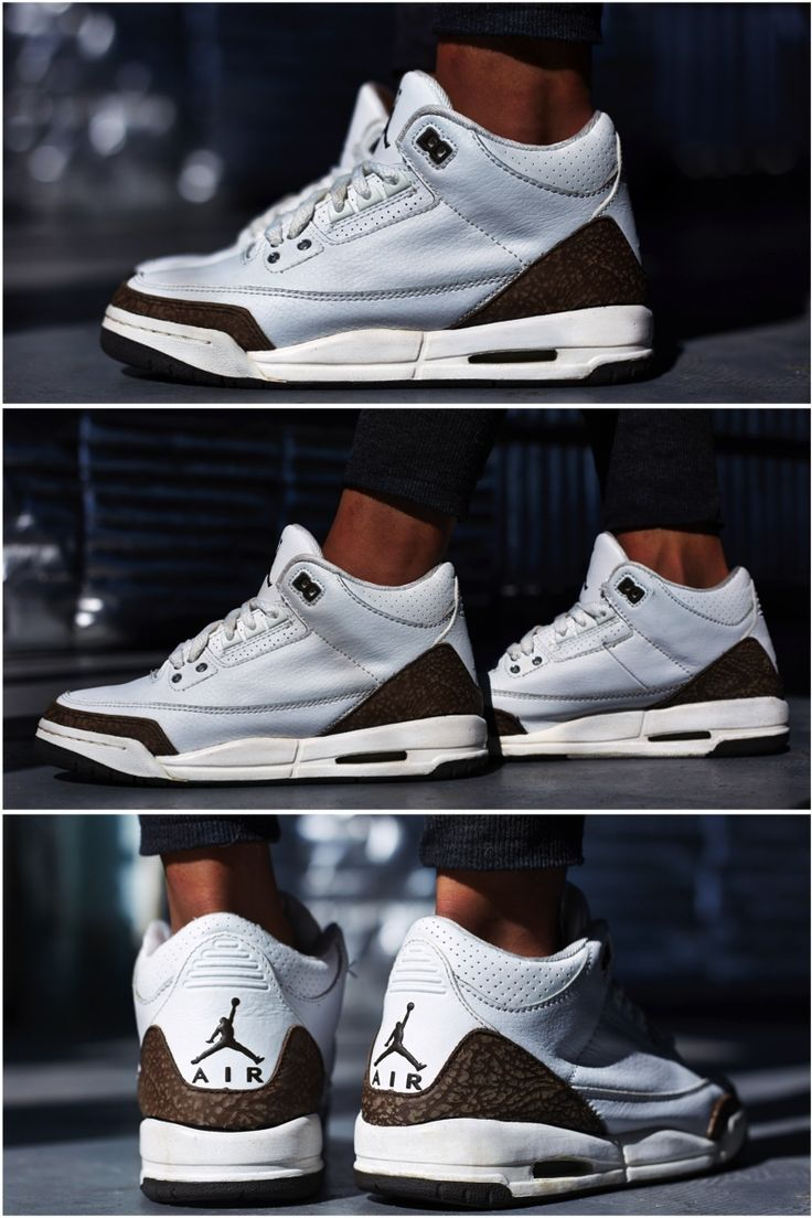 "f4247531b ON-FOOT LOOK  TBT EDITION    AIR JORDAN 3 ""MOCHA"""