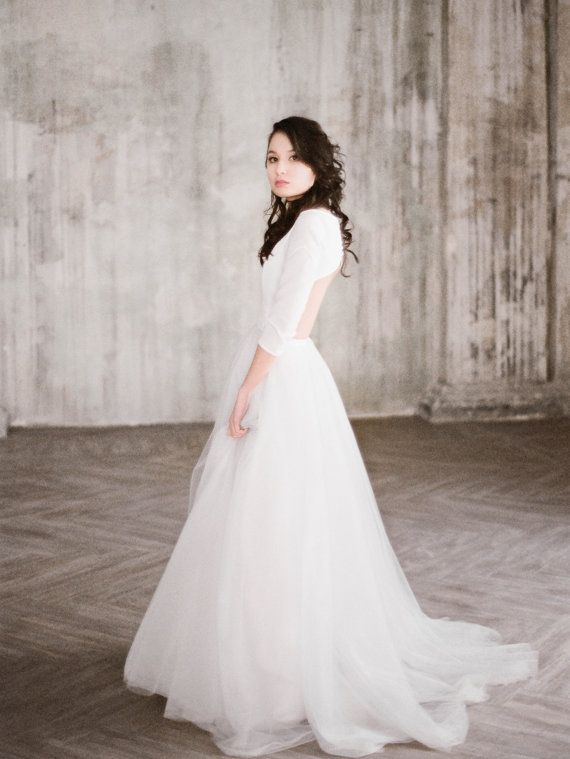 111 Best Long Sleeve Wedding Dresses Images On Pinterest