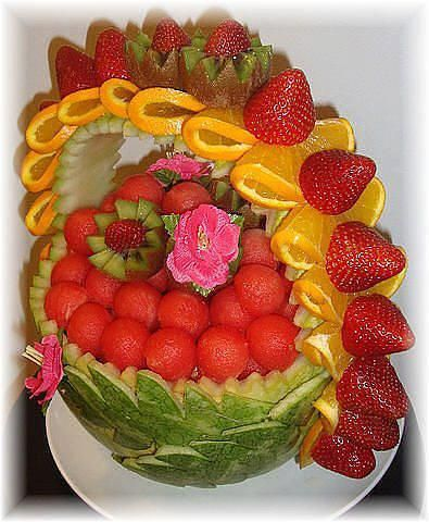 gorgeous and delicious fruit basket