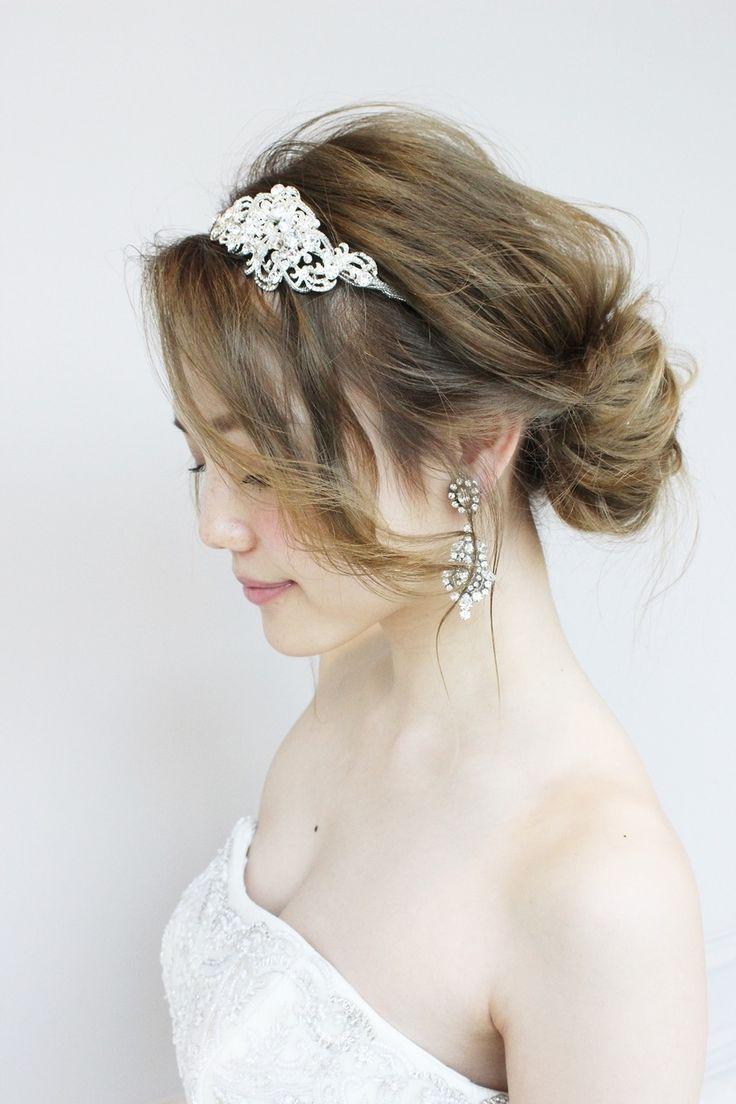 gendaiさんが教える♡後悔しない『理想の花嫁ヘア』を叶える為に覚えておきたい5つのオーダーリスト*にて紹介している画像