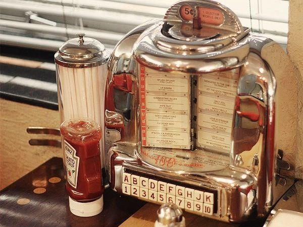 Tabletop Jukebox | Jukebox | Pinterest | Jukebox, Diners ...