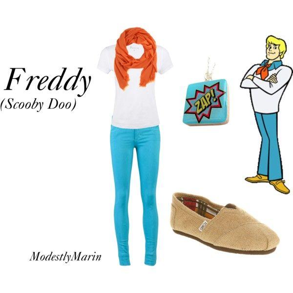 Freddy inspired fashion Scooby Doo  Halloween costume