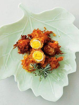 【ELLE a table】うずらの玉子のカレーフライレシピ|エル・オンライン