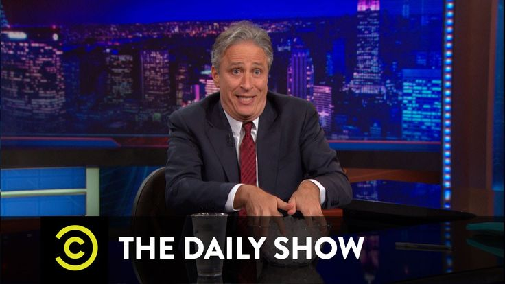 The Daily Show - Burn Noticed-- so unbelievably funny,  how does he do that?  Cut through the crap so easily and point out the real problem?  And hysterically no less. I'm going to campaign for Jon Stewart for President 2016!