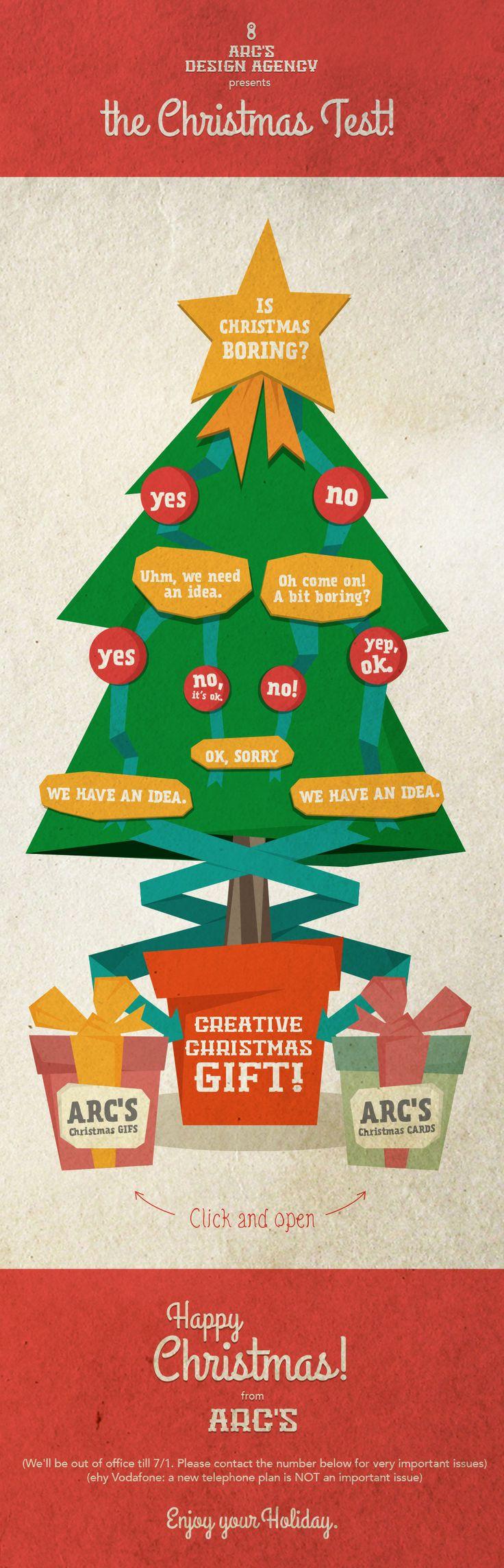 #Christmas #Newsletter #2013 #arcs #design