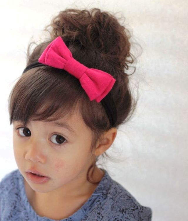 Cute Baby Hairstyles Amazing 128 Best Baby Hairstyles Images On Pinterest  Baby Girls Baby Hair