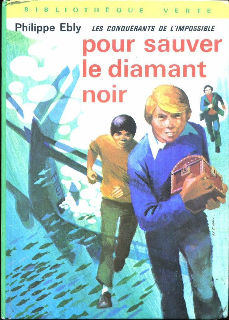 Philippe Ébly Hachette Bibliothèque Verte 1973