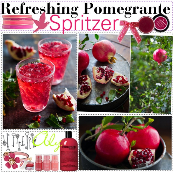 """Refreshing Pomegrante Spritzer"""" by the-tip-girls-of-neverland ..."""