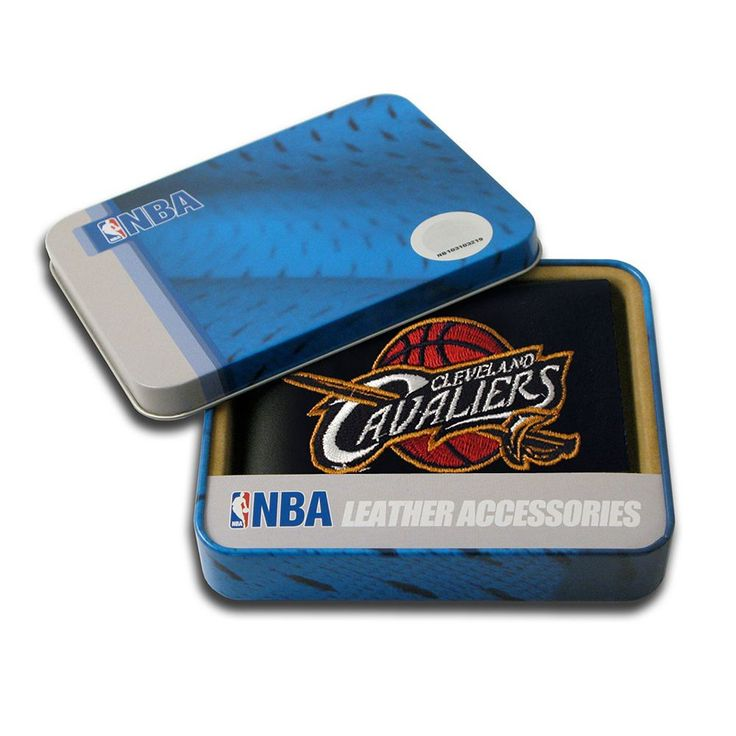 Cleveland Cavaliers Leather Trifold Wallet, Teens, Multicolor