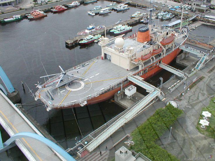 名古屋港水族館 船