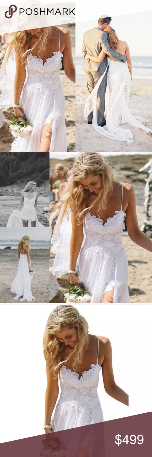 GET MARRIED🅾🆒 Wedding Dress WHITNEY ALLAN Lace White Dress. WEDDING DRESS.  SPECIALTY WEDDING , beach wedding church wedding vows engagement bride ring flower girl bridal shower wife wifey special bridal gown sweetheart design with embroidery Boutique Dresses